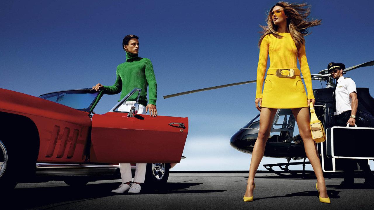 Když na nákupy přiletíte vlastním tryskáčem, už logicky nemusíte dávat najevo své bohatství okázalými produkty s velkými logy. (ilustr. foto)