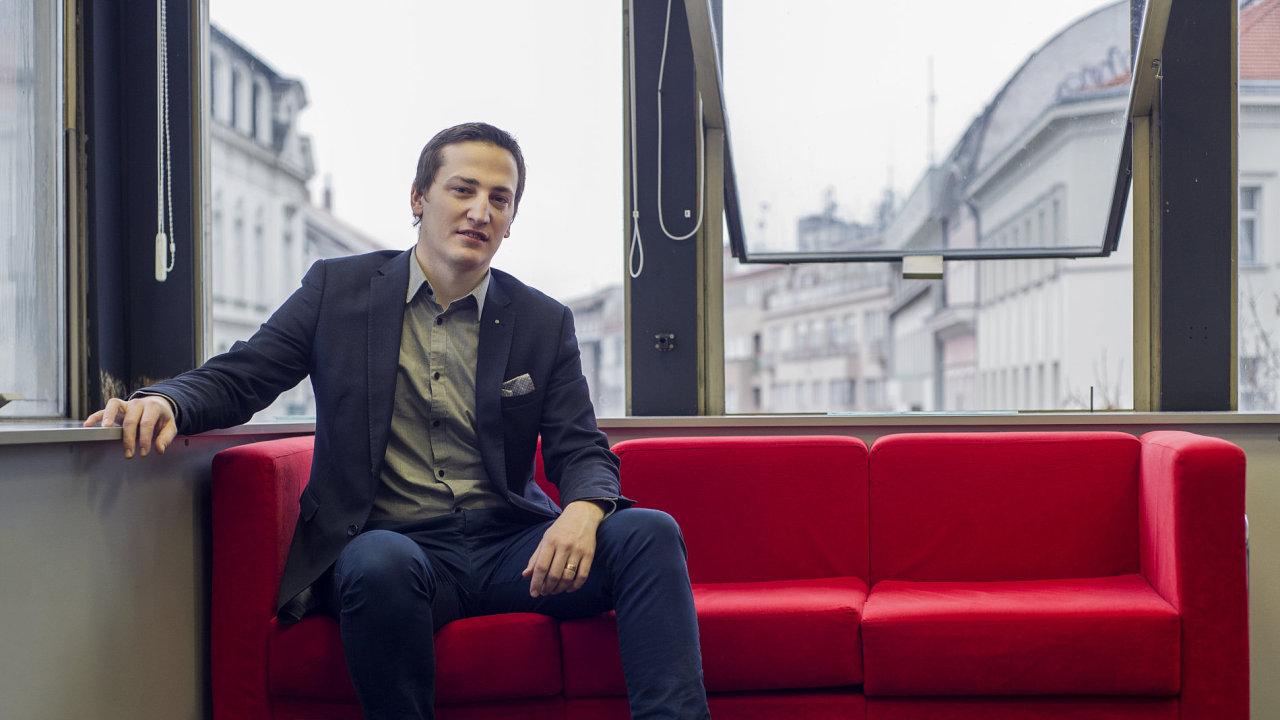 Ondřej Boháč z Institutu plánování a rozvoje hlavního města Prahy (IPR)