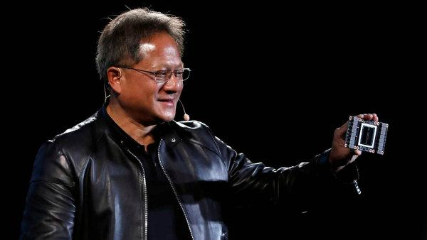 Šéf společnosti Nvidia Jensen Huang.