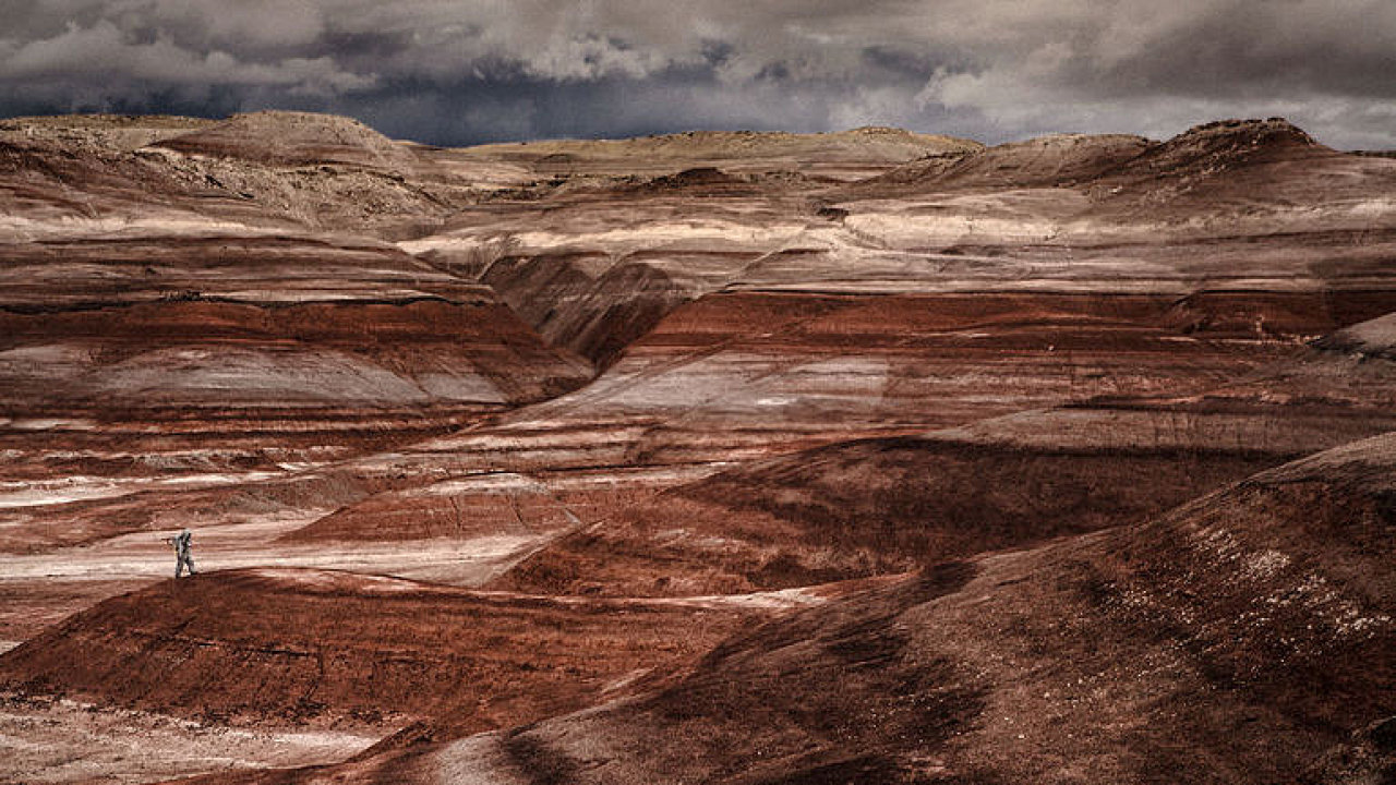 Sopky na Marsu by mohly být důkazem o životě na rudé planetě.