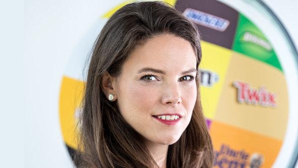 Daniela Hlaváčková, marketingová ředitelka společnosti MARS