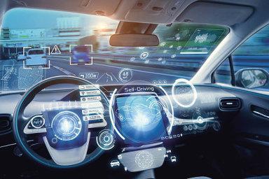 T-Mobile testuje datovou technologii pro automobily a infrastrukturu LTE-V, ilustrace
