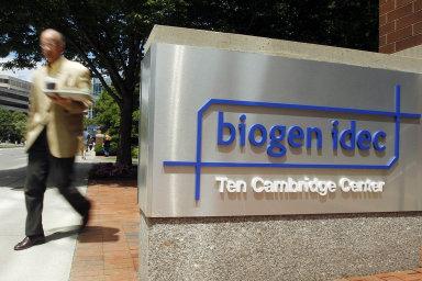 Akcie Biogenu, jedné z největších biotechnologických firem světa s původní tržní hodnotou 63 miliard dolarů (přes 1,4 bilionu korun), od čtvrtka klesly bezmála o třetinu.