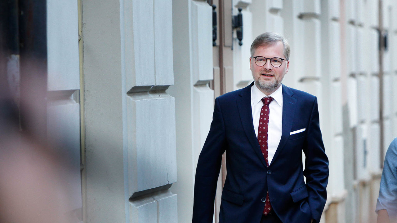 Nepsaný lídr: Šéf ODS Petr Fiala zatím vystupuje jako předák pravicové koalice.