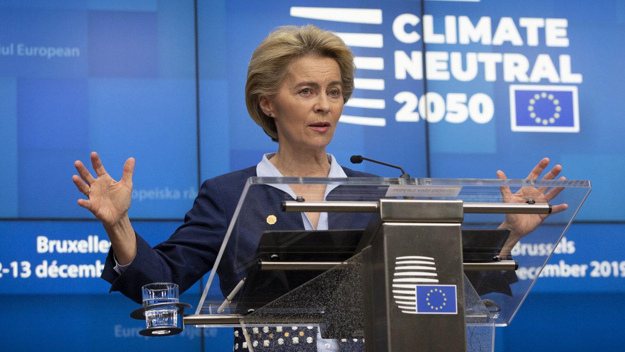 Klimatický summit EU, Ursula von der Leyenová
