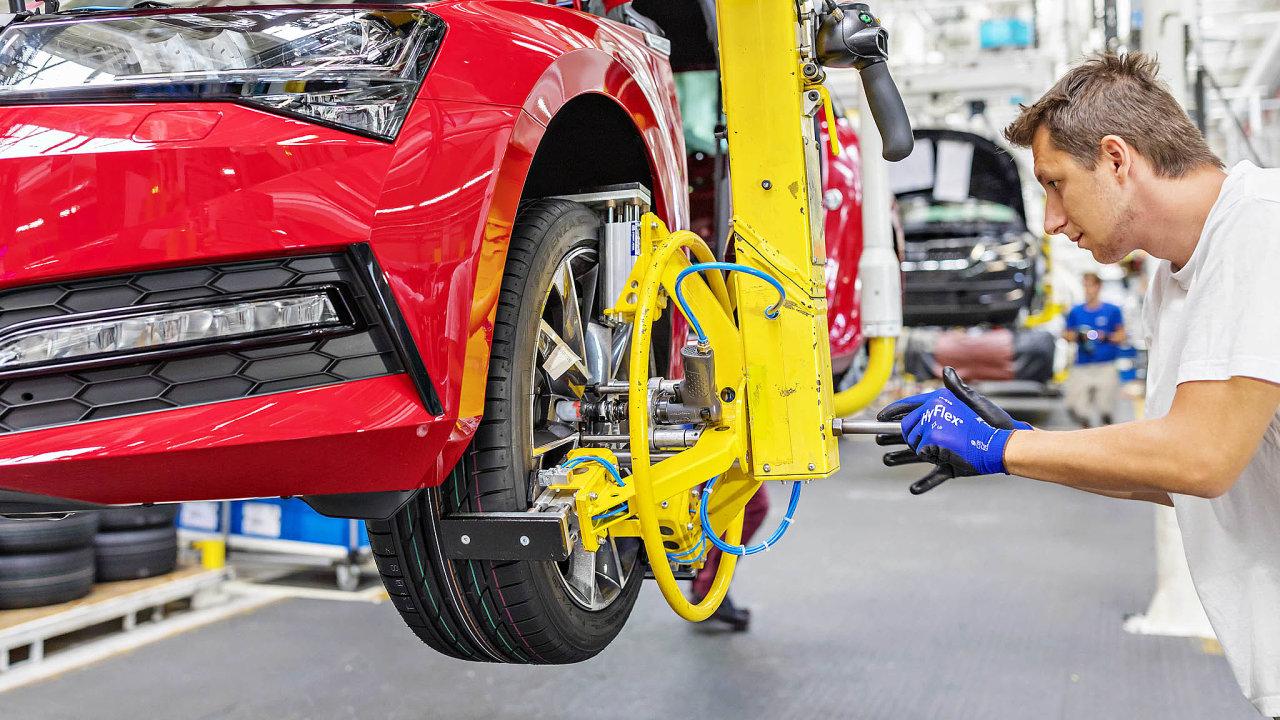 Výroba ve Škodě auto by měla být uzavřena do pátku 20. března.
