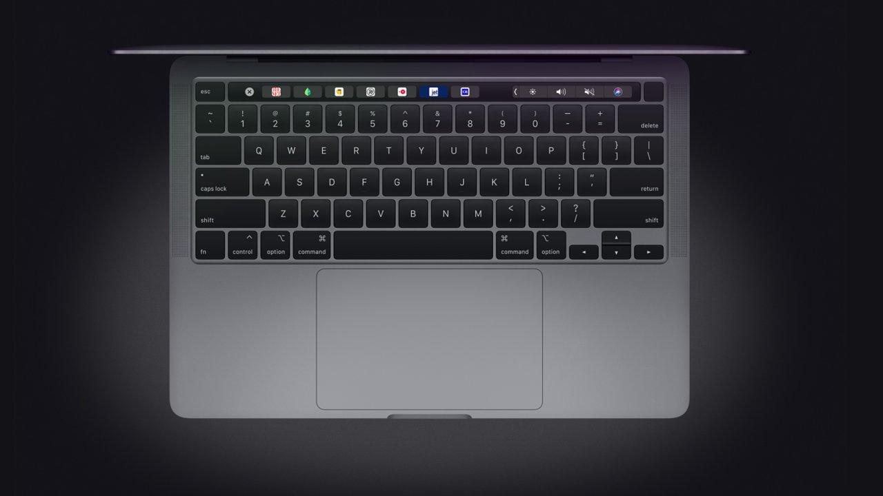 Nový Macbook Pro 13 se zbavil nešťastné motýlí klávesnice