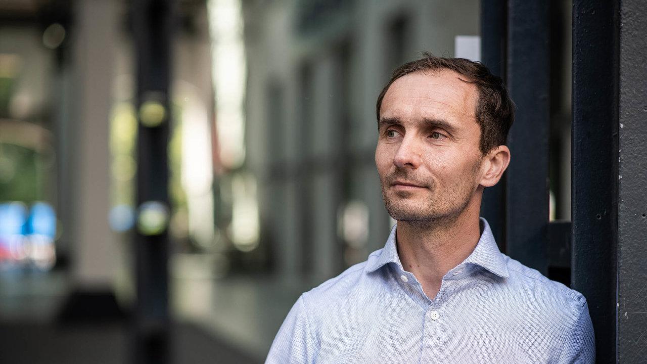 Miloš Blaškovan, finanční ředitel společnosti 3Dees.