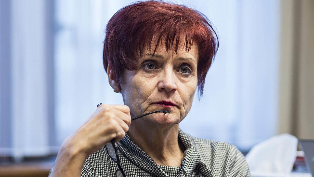 Čeká ji vysvětlování: Šéfka finanční správy Tatjana Richterová bude vesněmovně hájit postup berních úředníků.