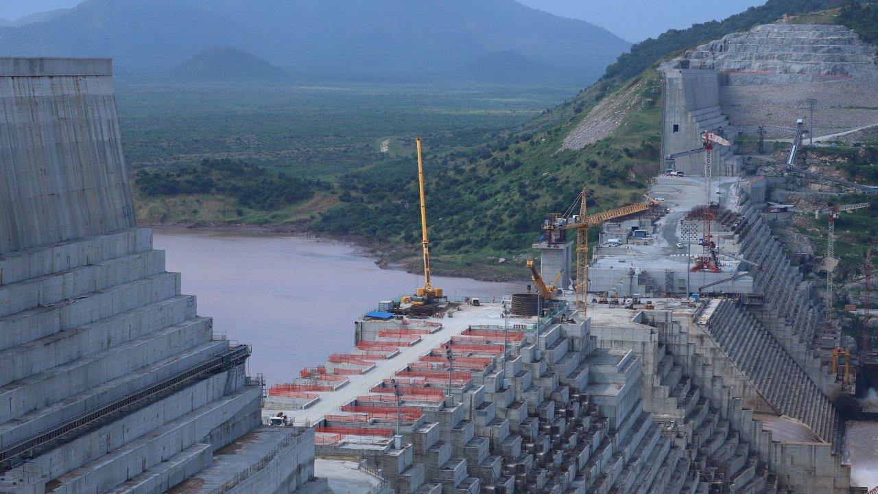 Etiopie přehrada