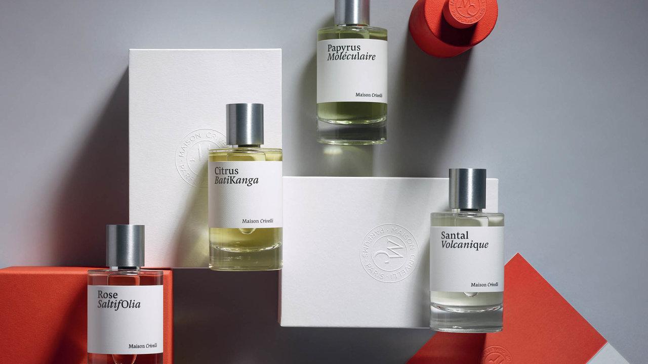 Kosmi parfémům značky Maison Crivelli si budete moci přivonět odříjna vkamenné prodejně Ingredients.