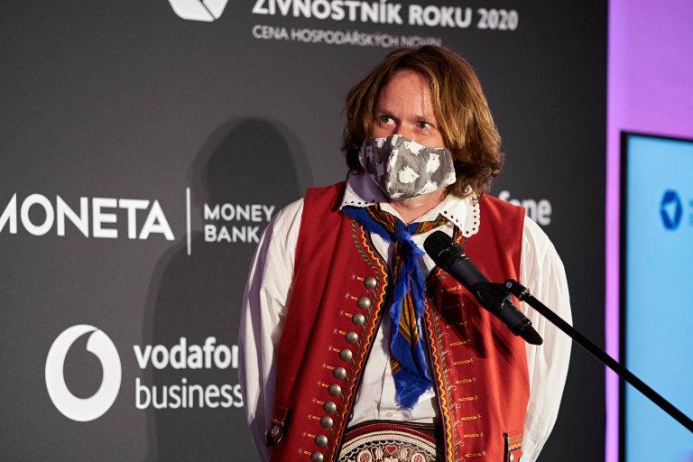 Zdeněk Fryml, Moneta Živnostník roku 2020 Královéhradeckého kraje