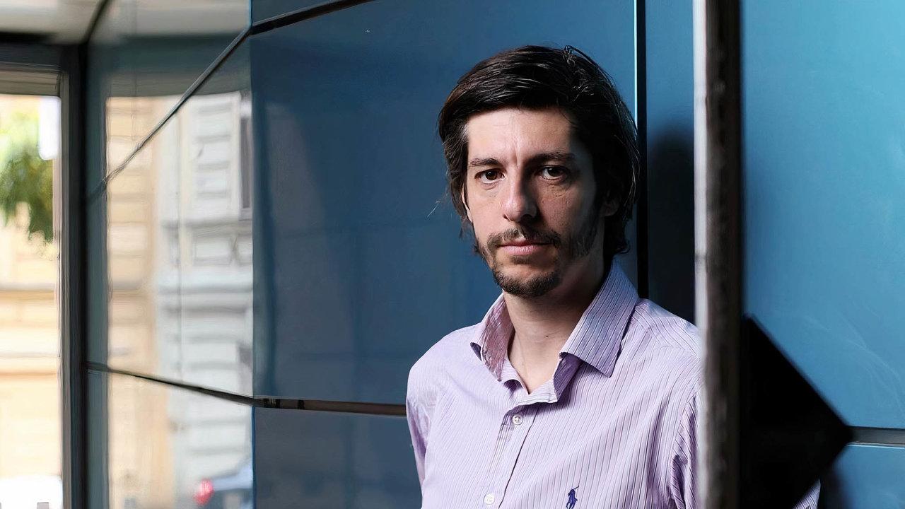 Radek Hábl, autor Mapy exekucí aředitel Institutu prevence ařešení předlužení.