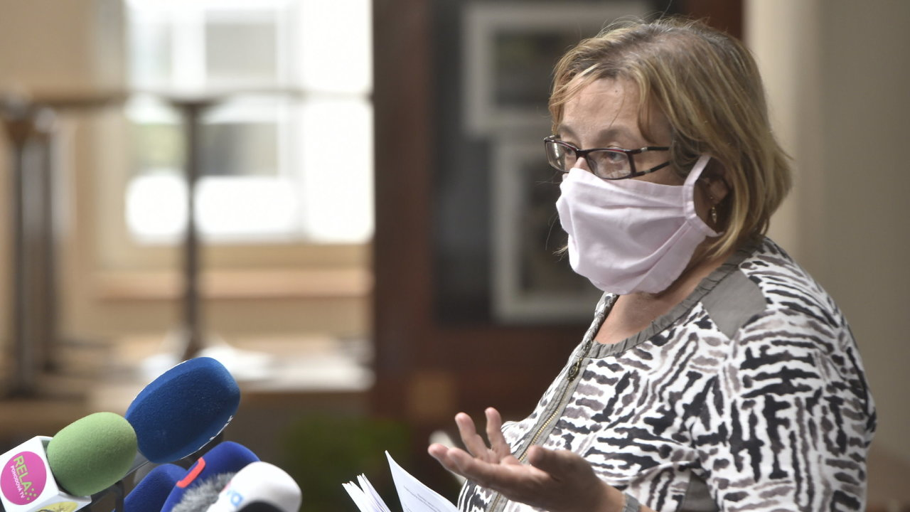 Hygienička Pavla Svrčinová má podle vicepremiéra Jana Hamáčka (ČSSD) předložit jasný plán dalšího postupu.