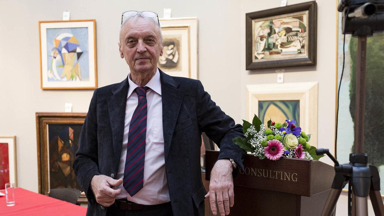 Jiří Rybář, majitel aukční sítě 1. Art Consulting