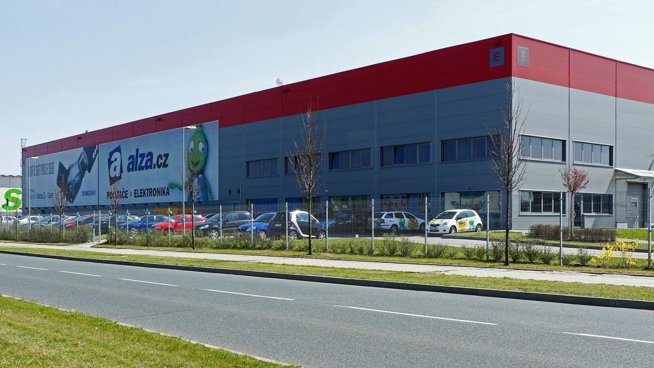 Logistické centrum Alzy v Horních Počernicích (ilustrační snímek)