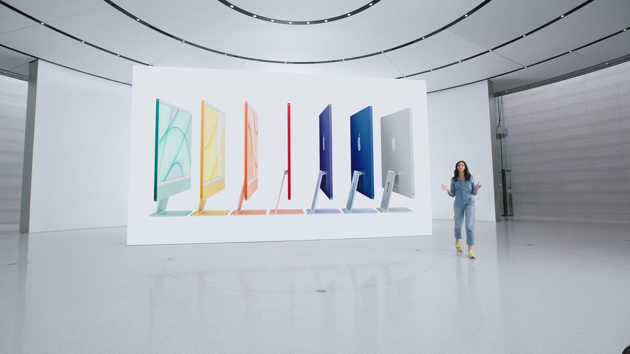 iMac v nové podobě je extrémně tenký a plný barev.