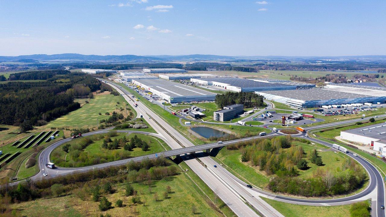 Logistický park CTP Bor.