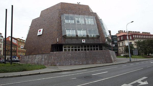 Komerční banka v Praze na Smíchově