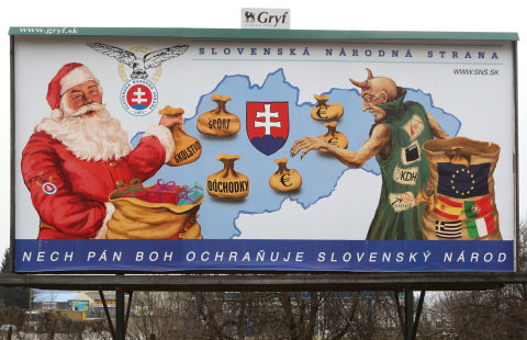 Bilboard, volby na Slovensku 2012