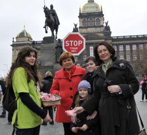 Kampaň Nadace Naše dítě