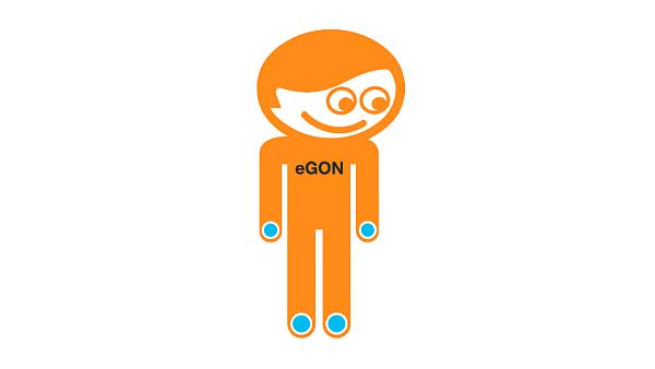 eGON - maskot, kter� m� polid�tit informa�n� syst�my pot�ebn� pro zaji�t�n� funkc� st�tn� spr�vy