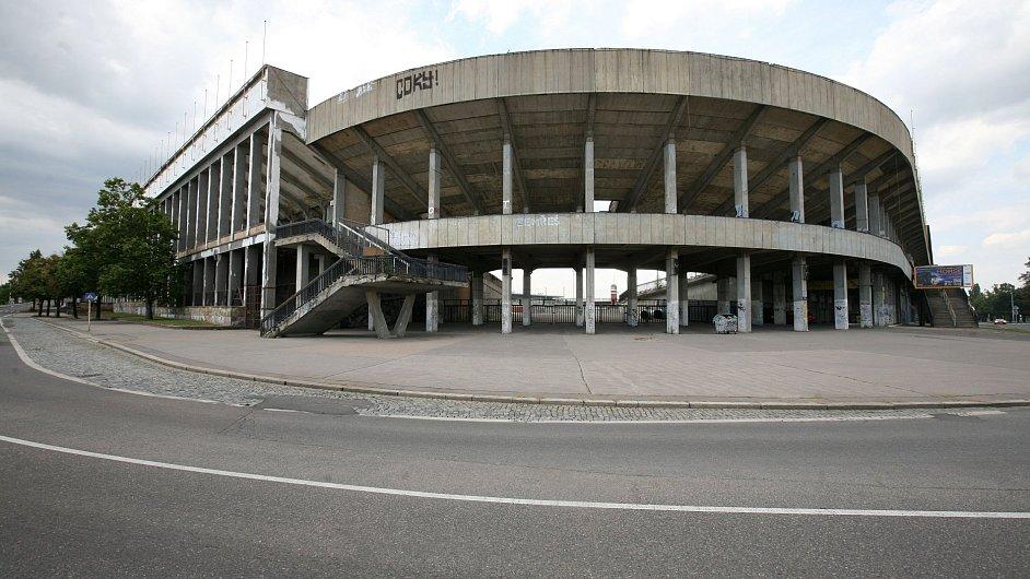 Strahovský stadion.
