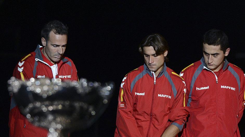Španělský daviscupový tým