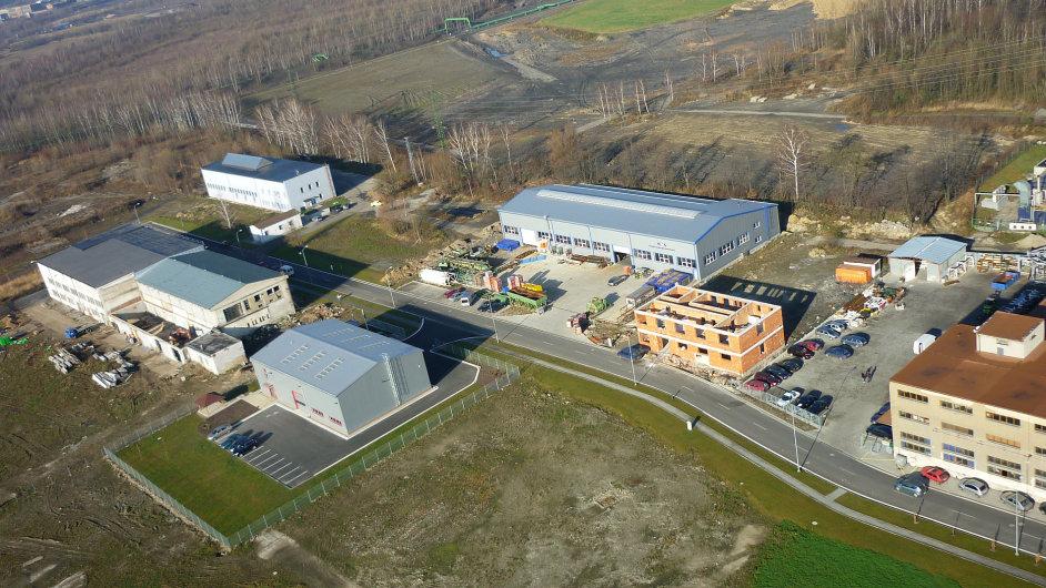 Průmyslová zóna v Horní Suché u Karviné, ilustrační foto