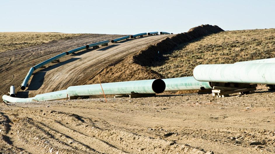 Ilustrační foto - Stavba plynovodu