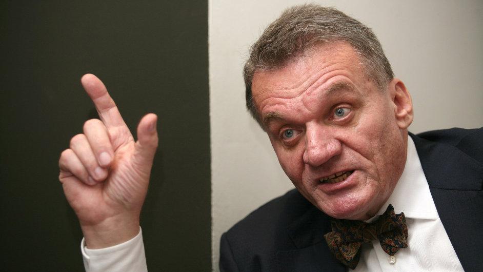 Primátor Bohuslav Svoboda