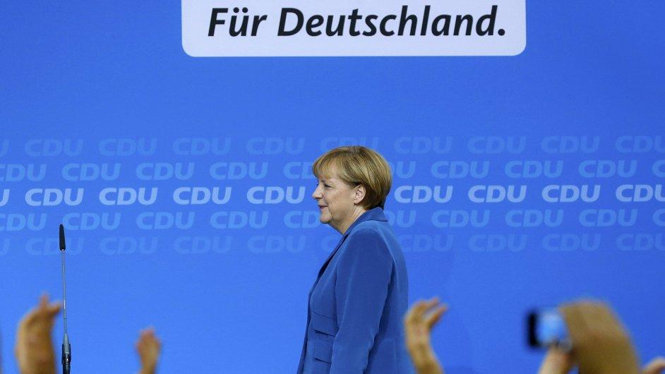 Angela Merkelová je vítězkou německých voleb.