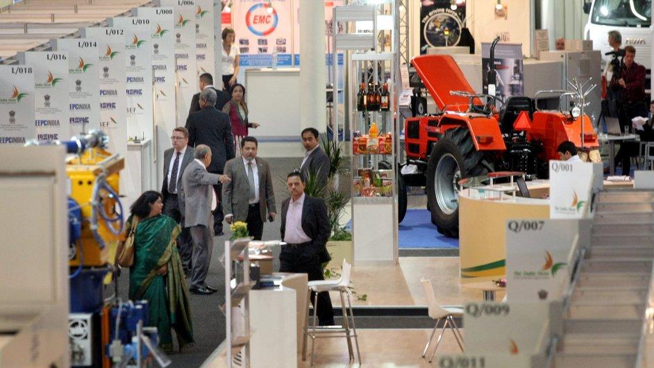 Celkem 45 procent vystavovatelů na letošní Mezinárodní strojírenský veletrh, který se koná ve dnech 7. až 11. října, přijede ze zahraničí.