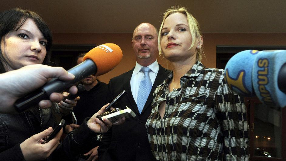 Exposlankyně a bývalá místopředsedkyně Poslanecké sněmovny Kateřina Klasnová