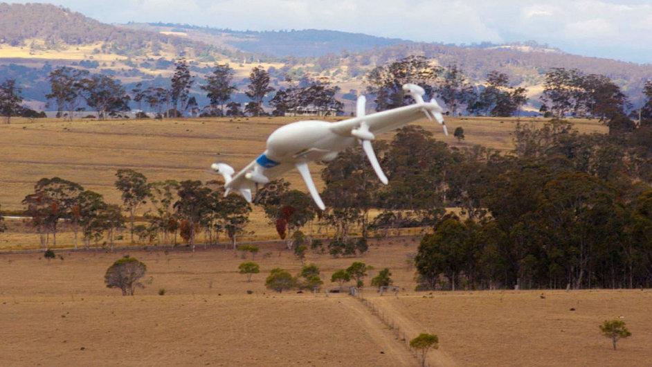 Google na svých bezpilotních letadlech pracuje už dva roky.