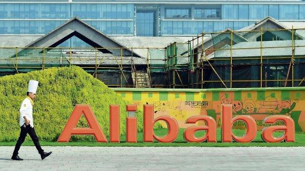 �st�ed� Alibaby v ��nsk�m m�st� Hangzhou