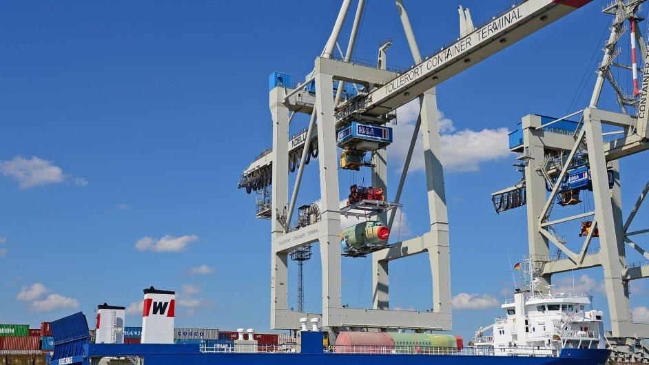 V Hamburku se připravují na námořní cestu do Číny čtyři Airbusy za měsíc