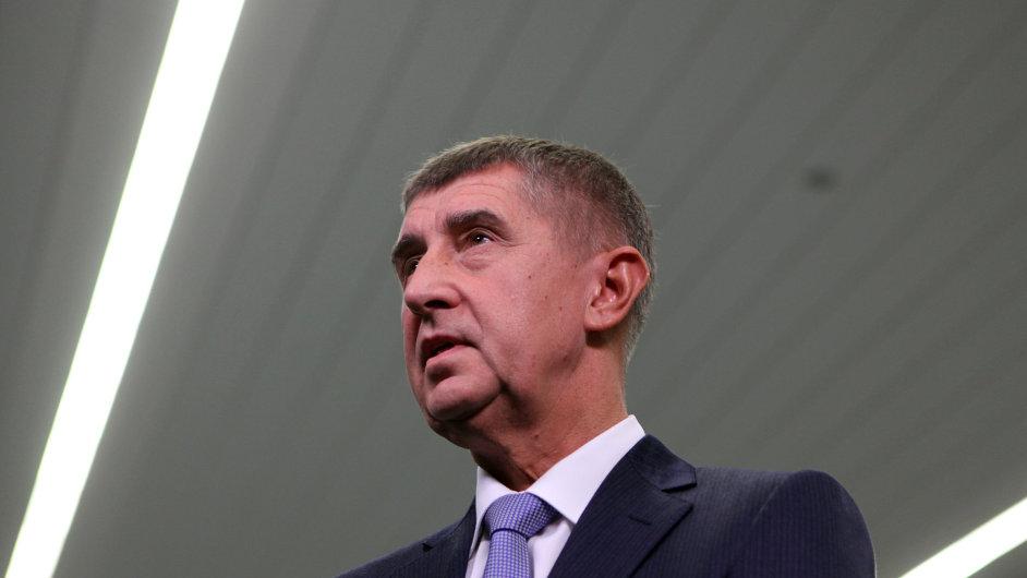 Šéf ANO Andrej Babiš. Jeho hnutí bude v několika velkých městech vládnout s KSČM.
