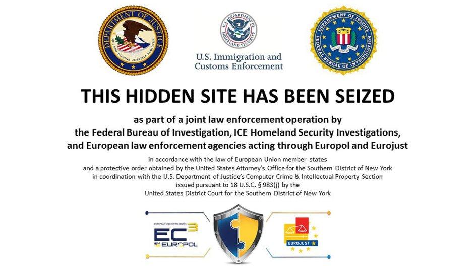 Úřady v USA a Evropě uzavřely na 400 webů spojených s prodejem drog a zbraní.