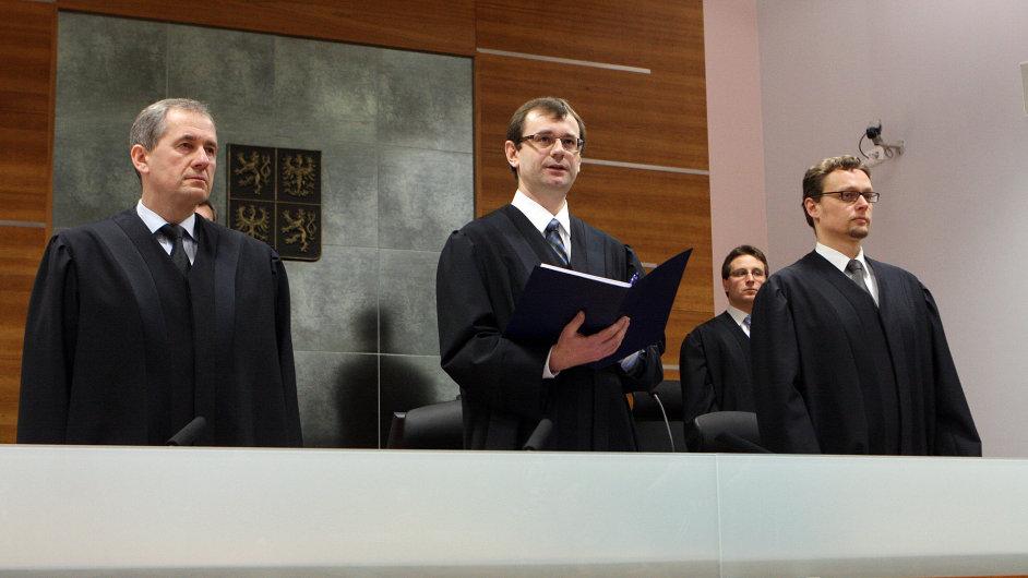 Senát Nejvyššího správního soudu - ilustrační foto.