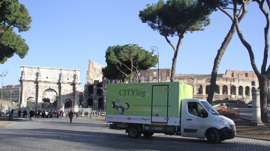 FM Logistic zkouší v Římě nový typ zásobování