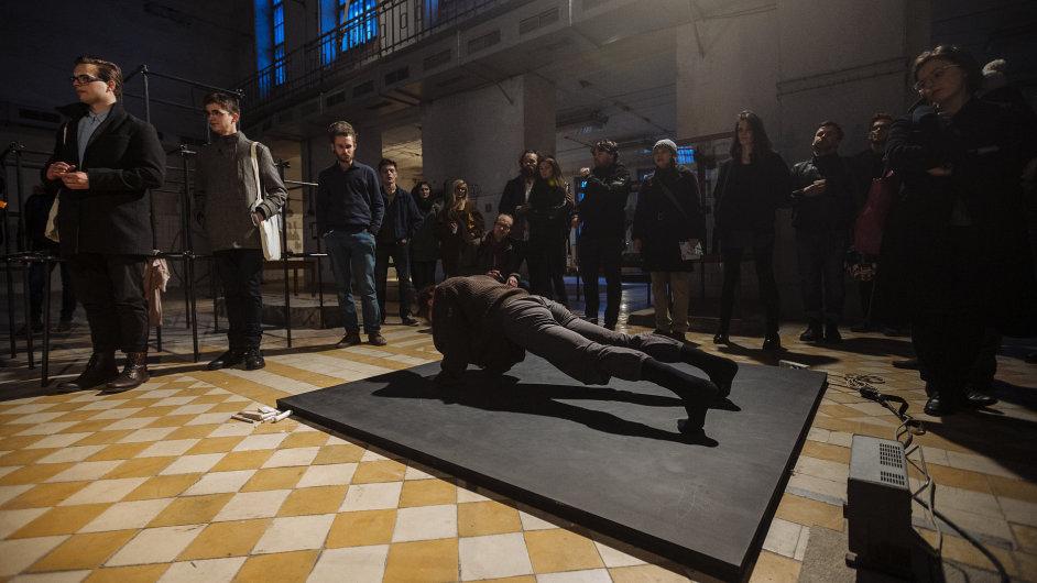 Snímky z výstavy Evy Koťátkové