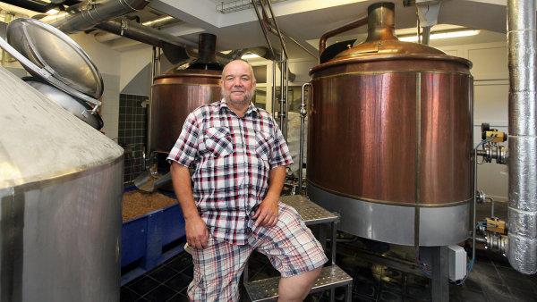 Šéf pivovaru Permon Ladislav Sás