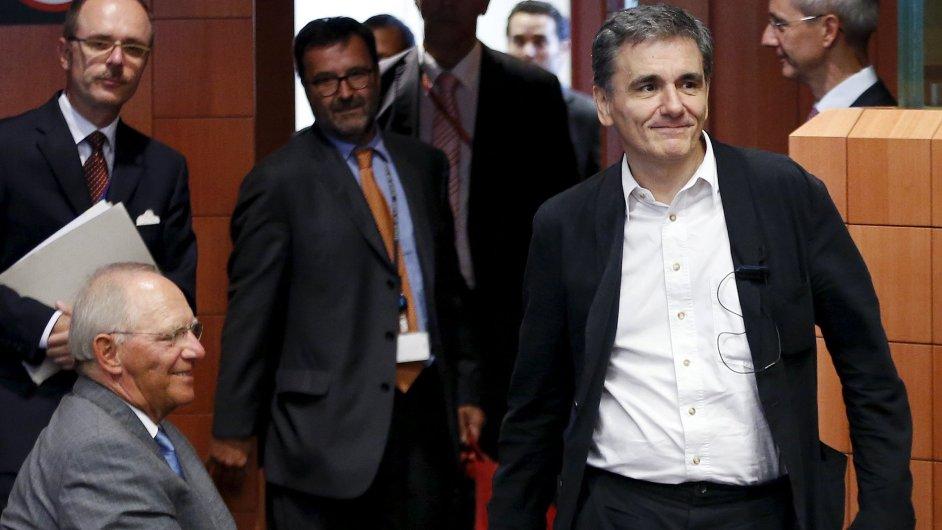 Řecko, EU, eurozóna, Tsakalotos, Schaeuble