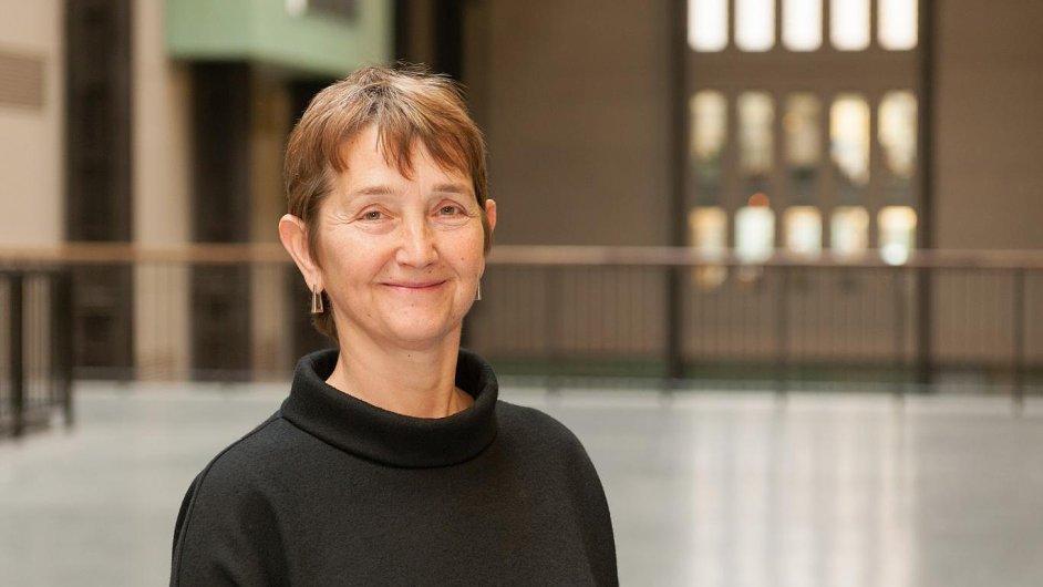 Frances Morrisová v Tate pracuje od roku 1987.