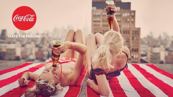 Název nové globální kampaně Coca-Coly nese název Taste the Feeling