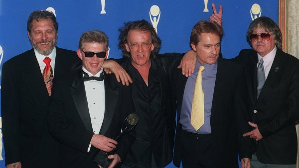 Paul Kantner (veprostřed) spoluzaložil skupinu Jefferson Airplane.