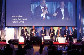 Innovative Legal Services Forum 2016. Zástupci advokátních kanceláří řešili, jak inovovat své firmy a vyhovět potřebám klientů.