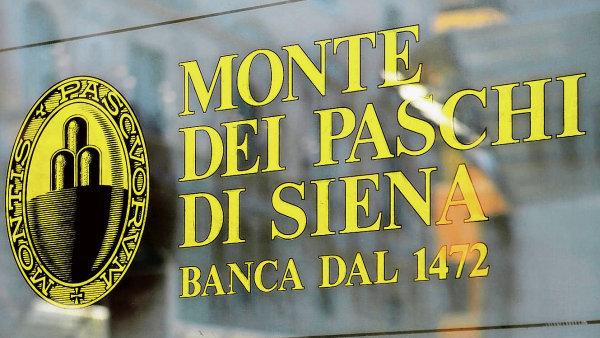 Nejstarší banka světa, italská Monte dei Paschi di Siena, je problémová.