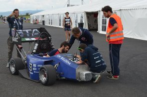 Soutěž Formula Student Czech 2016